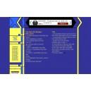 Kit Graphique Classique Bleu-Jaune